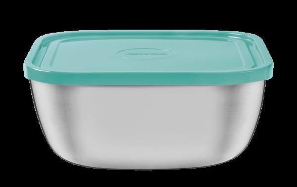 FREEZINOX Frischhaltedose mit Deckel, 23 cm