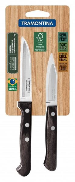 LANDHAUS Obstmesser & Universal-Küchenmesser, 2-teilig