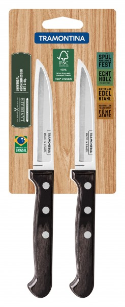 LANDHAUS Universal-Küchenmesser, 2-teilig