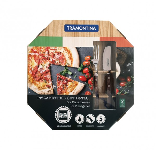 Pizzabesteck, 12-teilig