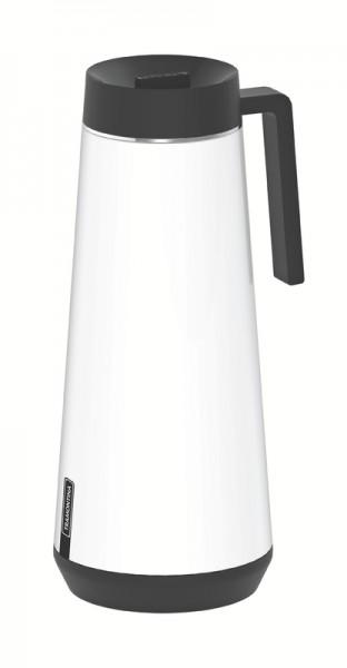 EXATA Thermoskanne weiß - 1,0 Liter