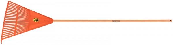 Kunststoff Laubbesen, 22 Zinken, Länge 168 cm