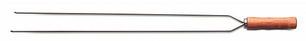 Grillspieß, 2-fach (Spießlänge 75 cm)